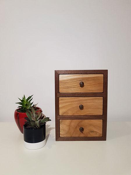 Walnut and Elm Box