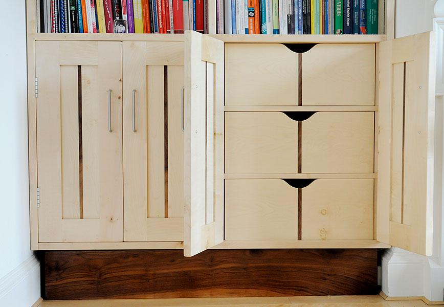 Sycamore Bookcases