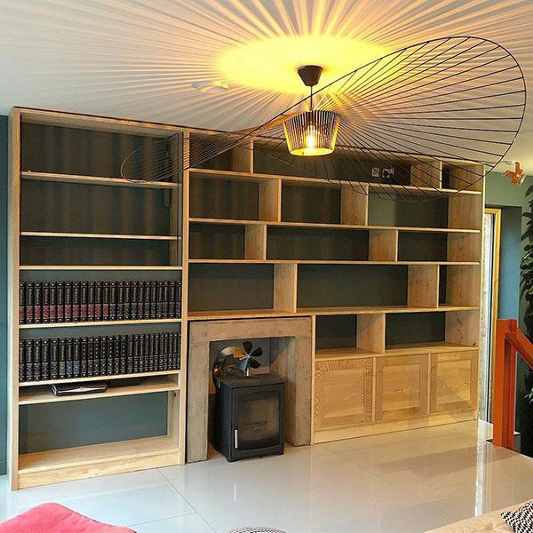 Cammo Bookshelves
